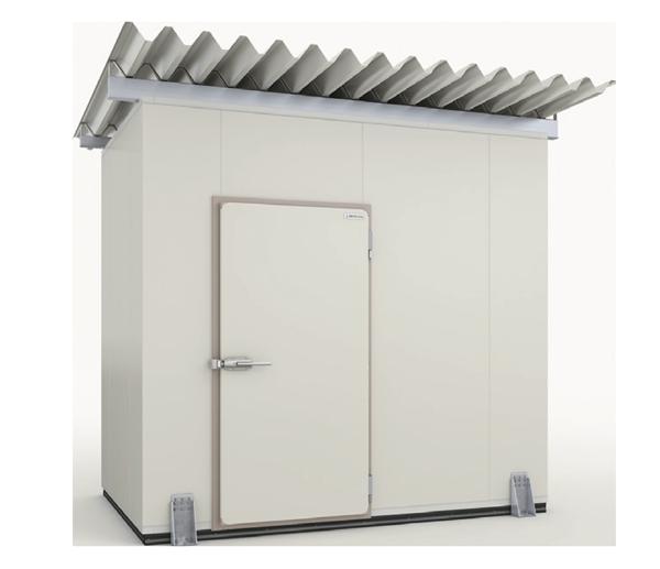 屋根付冷凍・冷蔵庫