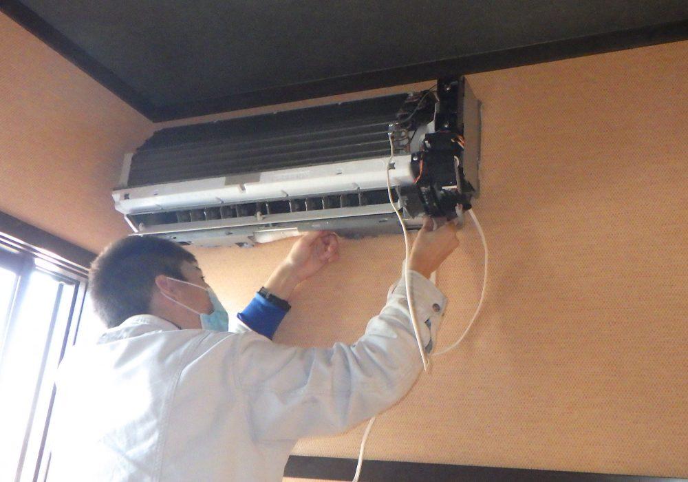 名古屋市中川区某所 飲食店 エアコン更新工事